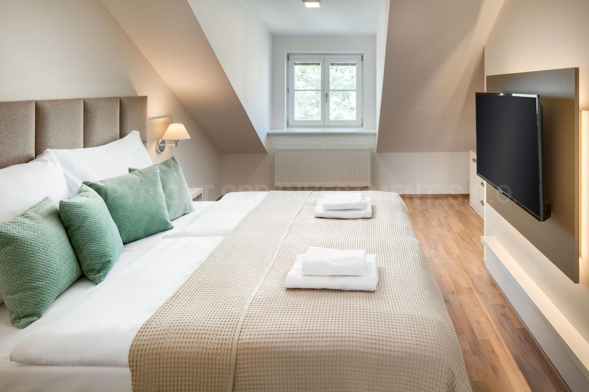 Duplex-Wohnung zur kurzfristigen Miete in Prag