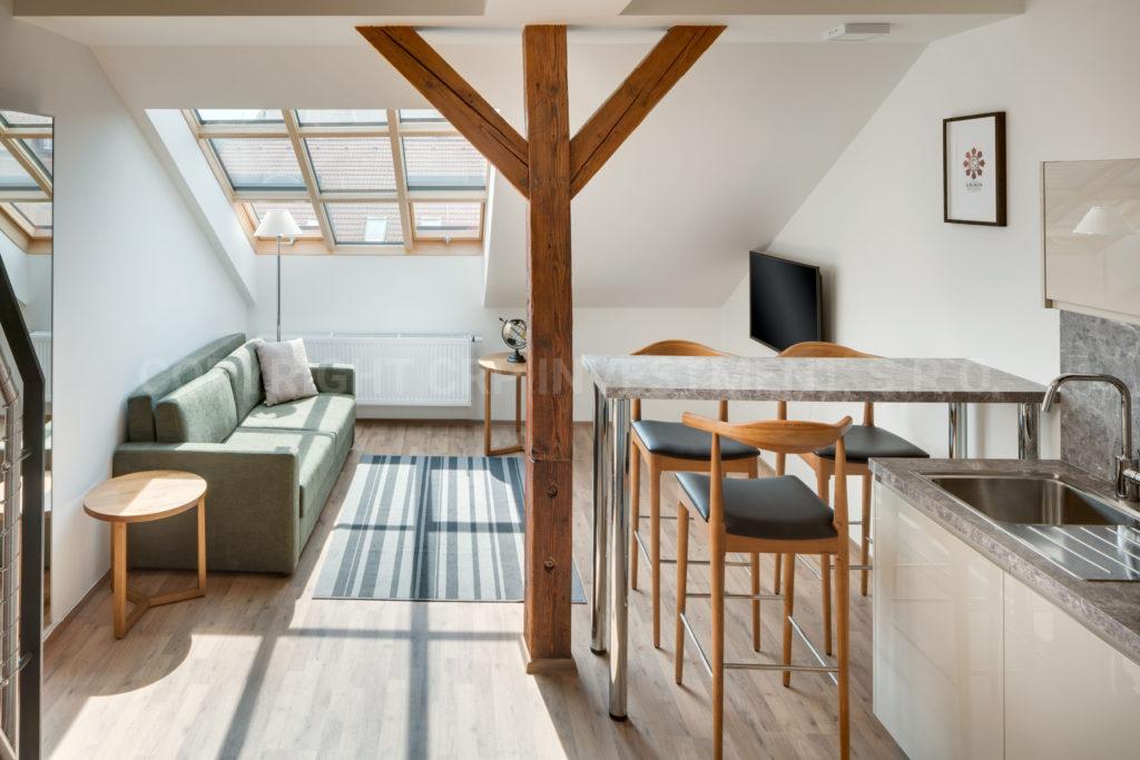 Duplex-Wohnung zur Miete in Prag