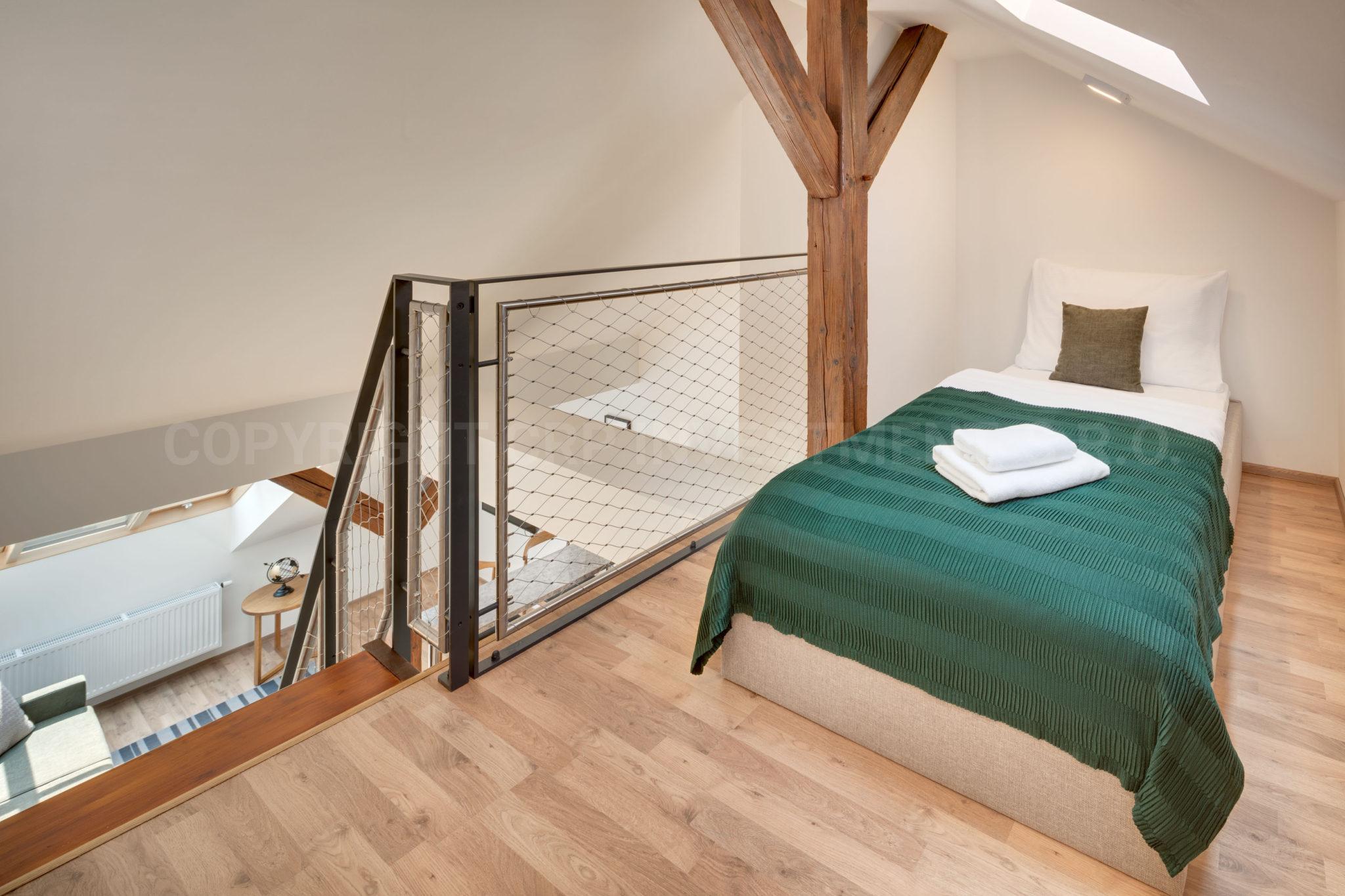 Maisonette-Wohnung zur Miete in Prag